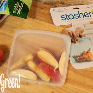 Stasher Bag Reusable and Eco-friendly Sandwich Bag Alternative