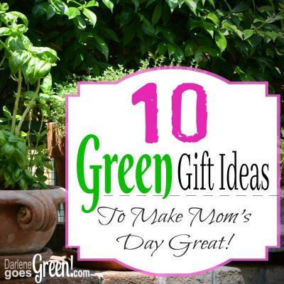 10 Green Gift Ideas for Mom