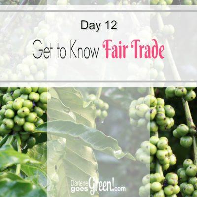 Go Green Buy Fair Trade