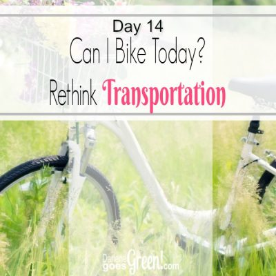 Go Green Consider Alternative Transportation