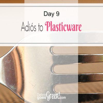 Go Green Refuse Disposable Plasticware