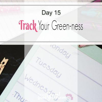 Go green and track your success