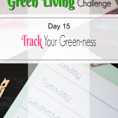Go Green Track Your Success