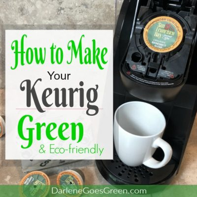 Green Keurig Coffee Pods Cups