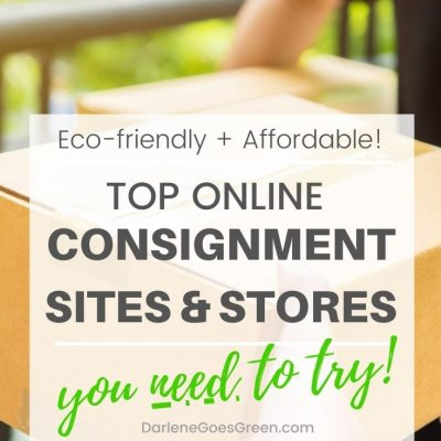 Top Online Consignment Sites You Need to Try for the Whole Family. #DarleneGoesGreen #consignment #ecofriendly #used #gogreen #afforable